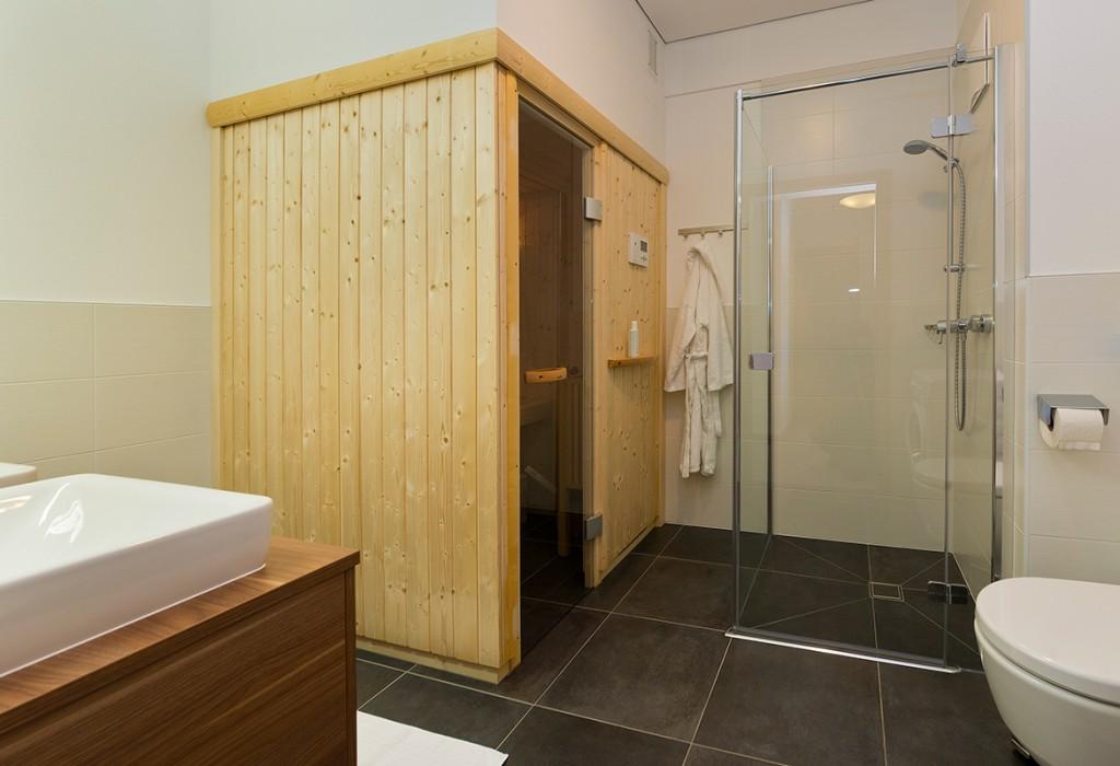 Finnische Sauna Appartement Top 1