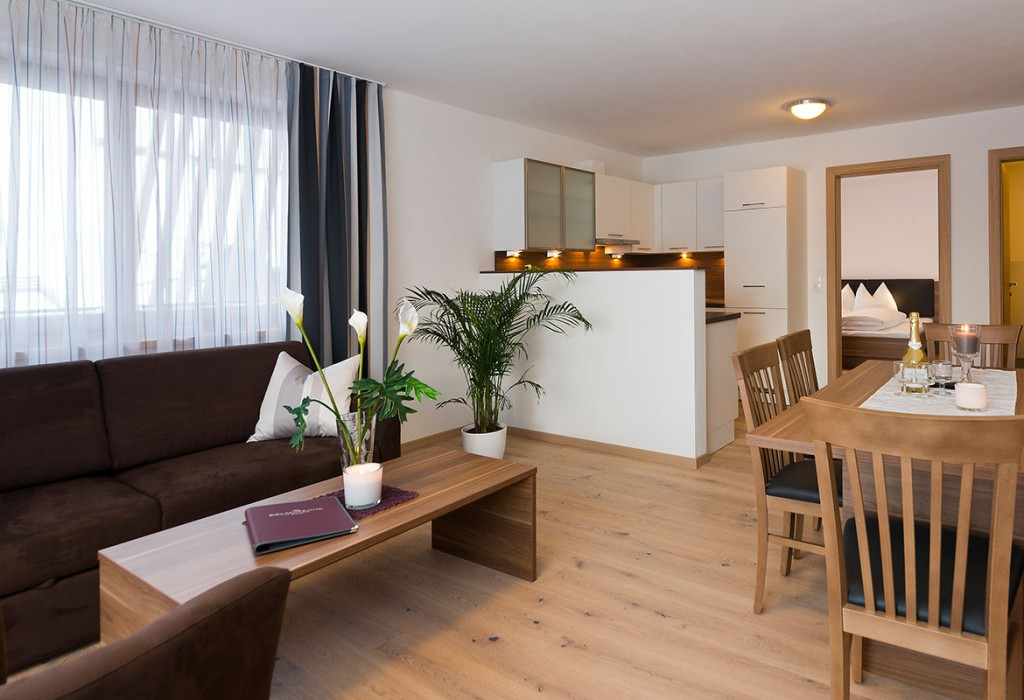 Wohnraum Appartement Top 4
